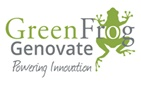 Green Frog Genovate Logo
